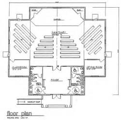 church floor plans free church plan 114 lth steel structures