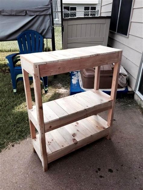 wooden pallet entryway table  pallets
