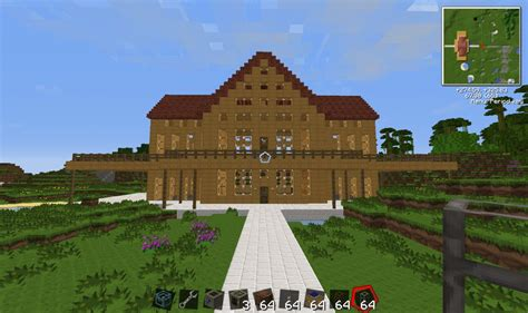 1 Level House Plans by Cool Minecraft Tekkit House And Machinery Minecraft Project