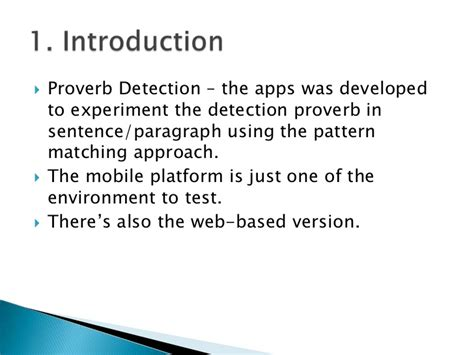 sentence pattern detector khirulnizam malay proverb detection mobilecase 19 sept