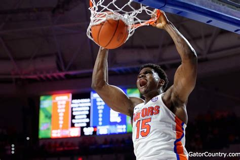 Florida Gators Basketball Returns Home Florida Gators Basketball Routes Kentucky At Home