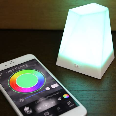 notti smart light smartphone notification light the green head