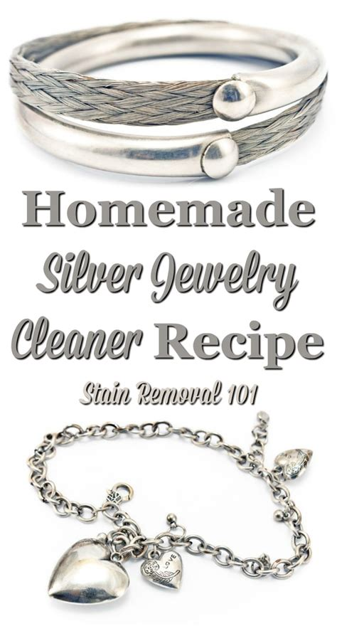 how to make silver jewelry cleaner silver jewelry cleaner recipe