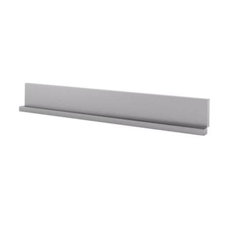 inoxia dado 30 in x 4 25 in stainless steel backsplash