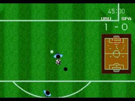 world cup italia 90 gameplay sega genesis mega drive