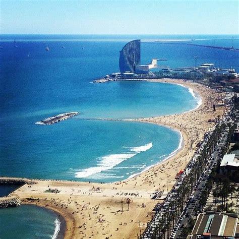barcelona beach pin by grisel lujan on travel pinterest