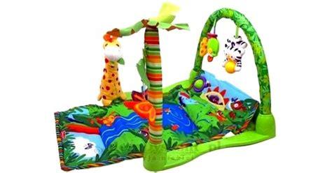 Set Kasur Bayi Lucu Orange Giraffe baby gift playgym rainforest