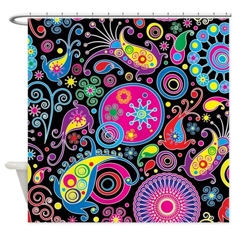 trippy curtains psychedelic pattern shower curtain by bestshowercurtains