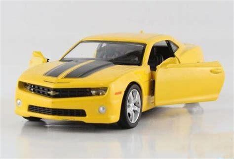 Die Cast Alloy Cevrolet Camaro Black White Yellow Black Yellow 1 36 Scale Diecast Chevrolet