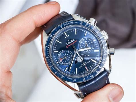 Omega Speedmaster Moonwatch Co Axial Chrono Black Swiss Eta Omega Speedmaster Moonwatch Co Axial Master Chronometer