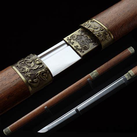 steel katana handmade japanese katana samurai sword carbon steel sharp