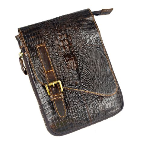 Leather Mini Bag Style Handbagshoulderbag crocodile style new genuine leather bags for small