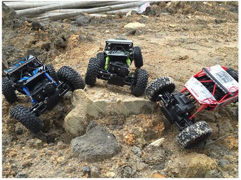 Rc Offroad Bigfoot Climber 4wd Rock Crawler 2 4 Ghz Biru popular rc 4x4 buy cheap rc 4x4 lots from china rc 4x4