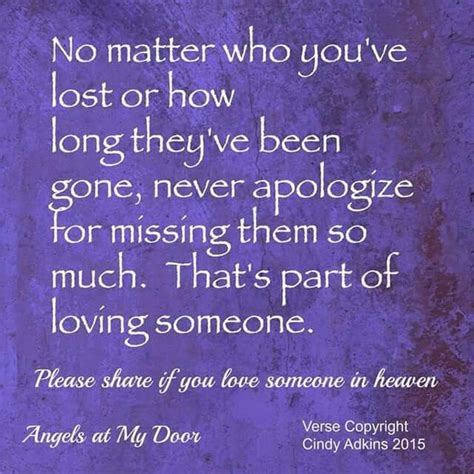 missing   heaven   love  grieving quotes