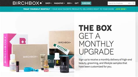 best e commerce best ecommerce websites birchbox skyrockets with