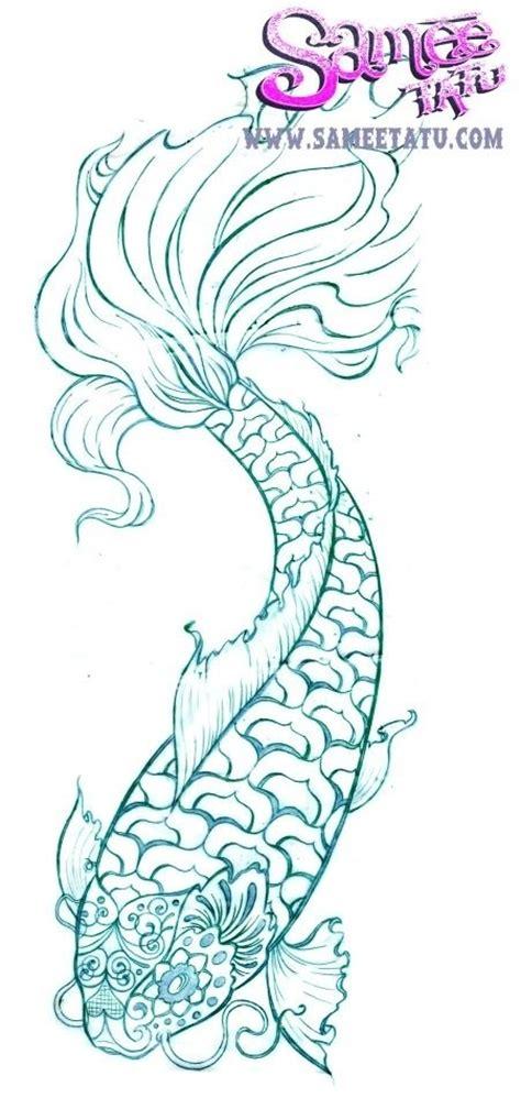 koi tattoo head koi tattoo tatuajes pinterest sugar skull design