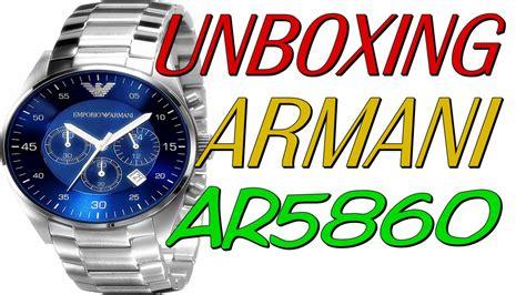 unboxing rel 243 gio emp 243 armani ar5860 freplica aliexpress