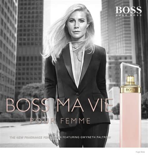Gwyneth Paltrows New Pleasure Ads by Gwyneth Paltrow Fronts Hugo Ma Vie Fragrance