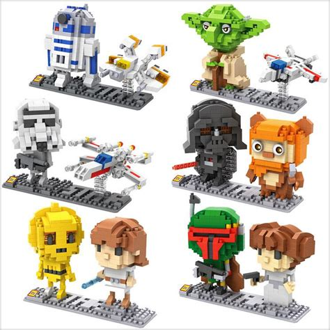Blocks Lego Wars aliexpress buy loz wars micro blocks yoda diy