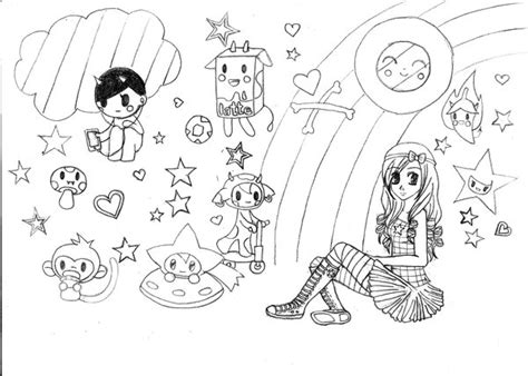 tokidoki unicorno coloring pages coloring pages