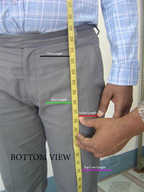 jacket length measuring guide