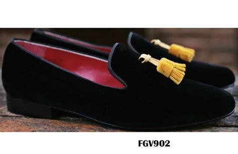 custom velvet slippers custom tassel velvet slippers fg shoes