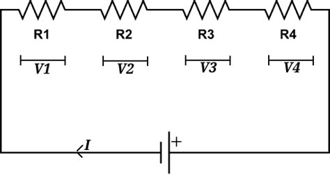 series resistors current resistors in series electronics tutorials
