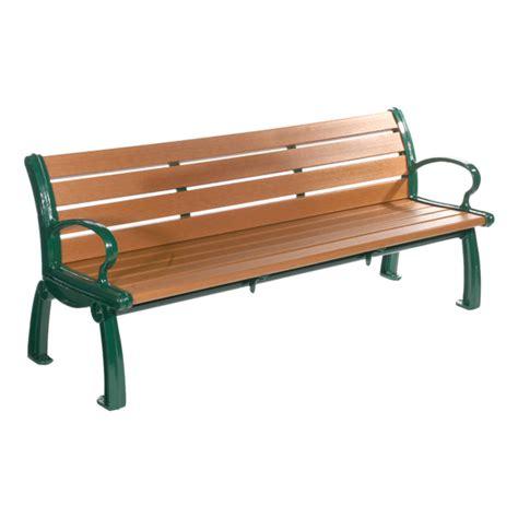 plastic benches outdoor jayhawk plastics inc heritage recycled plastic outdoor
