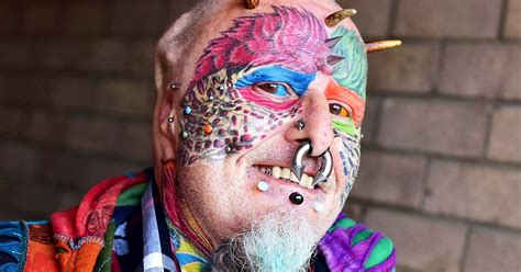 man who chopped off own ears to look like his parrot has