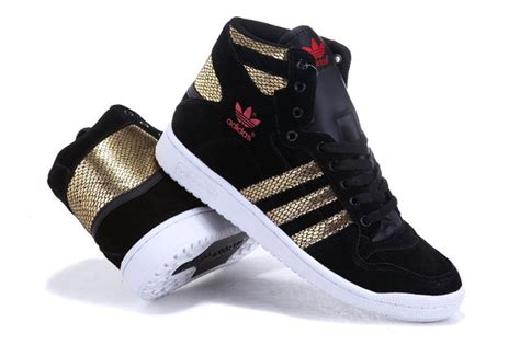 adidas high tops shoes gold snake scale black for and