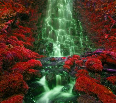 red sense waterfall android central