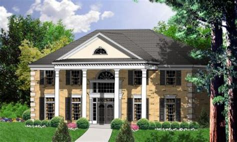 3 Story Colonial House Plans by 3 Story House 2 Story Colonial House Plans House Plans
