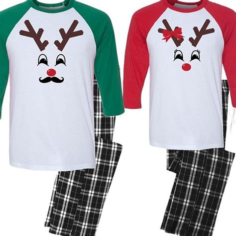images of christmas hers his and hers christmas pajama set couples by beforetheidos