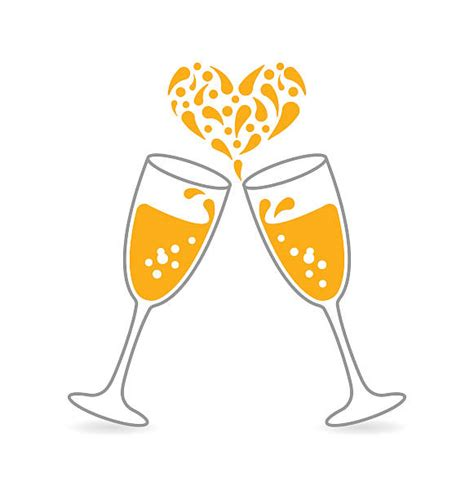 Wedding Glasses Clipart by Glasses Toasting Clipart Glasses Toasting Clip