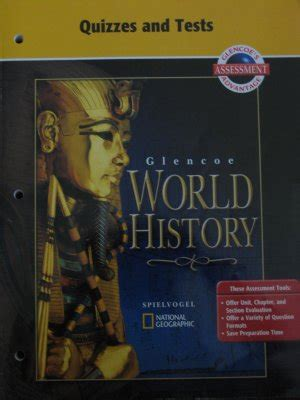 Glencoe World History glencoe world history quizzes and tests book for teachers