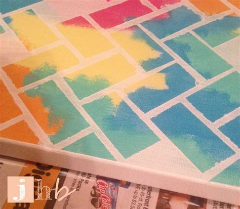 pattern tape wall art 647 best images about for the home on pinterest diy