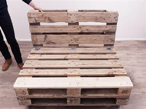 come fare un divano come costruire un divano con i pallet