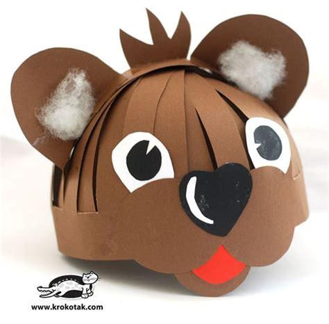 printable paper animal hats 65 best masks images on pinterest craft kids birthdays
