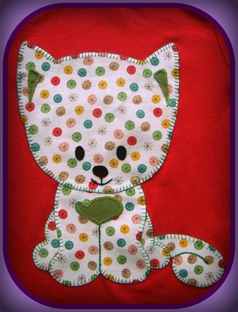 Applique Cat Quilt Patterns by Best 25 Cat Applique Ideas On