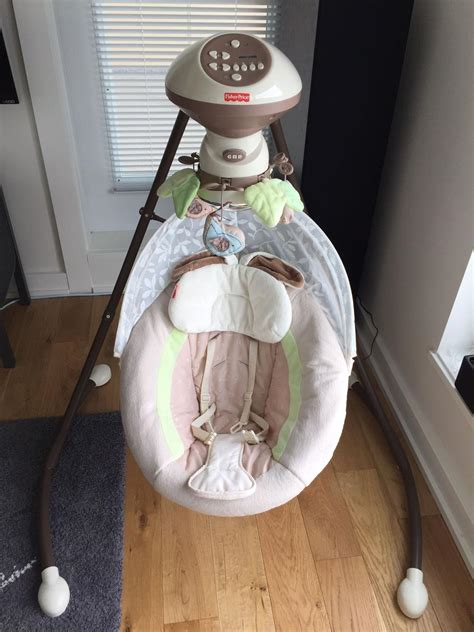 snug a bunny baby swing find more fisher price snugabunny baby swing for sale at