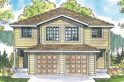 Mirror Columns by Craftsman House Plans Toliver 60 020 Associated Designs