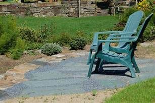 laying a flagstone patio instructions supply list