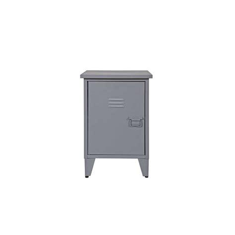 nachtschrank grau nachtschrank in grau aus metall kaufen
