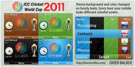 nokia x2 cricket themes cricket world cup 2011 theme for nokia x2 01 c3