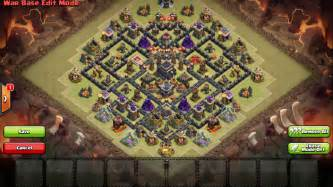 Th9 war base layout 29 clash of clans layouts