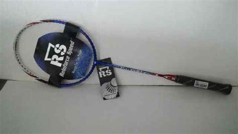Raket Rs Iso Speed 555 jual perlengkapan olahraga bulutangkis badminton