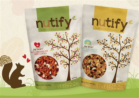 design packaging indonesia package design nutify healthy snacks indonesia