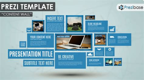 how to prezi template content wall prezi template prezibase