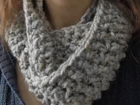 Chunky Infinity Scarf Crochet Pattern Easy Chunky One Skein Infinity Scarf Crochet Pattern