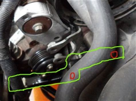 service manual [2010 ford transit connect tension pulley